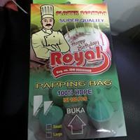 Plastik piping bag, plastik semprot segitiga kecil 35x24cm (100pcs)