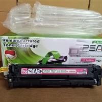 Toner Cartridge HP CB543A CP1215 CP1515 Magenta Remanufactured Bergara