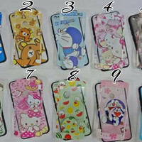 OPPO NEO 9 A37 A37F 360 KARAKTER FREE TEMPERED GLASS CASE OPPO A37 A37