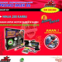 PROMO ALARM SMART KEY IMAX NINJA 250 KARBU