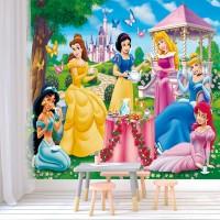 Wallpaper Dinding Princess Custom