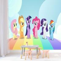 Wallpaper Dinding My Little Pony Custom