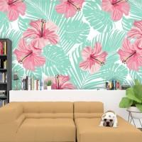 Wallpaper Custom Motif Tropical 02