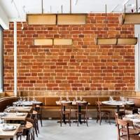 Wallpaper Dinding Motif Brick/Bata Custom