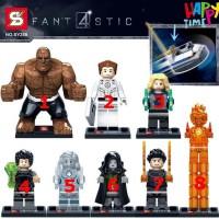 Jual MAINAN LEGO ANAK LEGO FANTASTIC FOUR LEGO BRICK MARVEL LEGO MURAH Murah