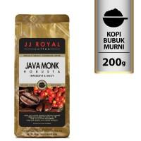 Coffee/Kopi JJ Royal Java Monk Robusta Ground Bag 200g