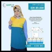 (Turun Harga!!) Baju Atasan Wanita Muslim / Blouse / Blus / Casual