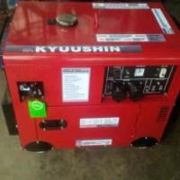 Promo Genset silent Honda Kyushin 6 kva 1 phase 5 000 watt bensin GR