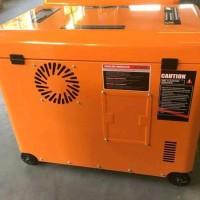 genset silent Honda 6 kva 1 phase 5 000 watt bensin double stater ga