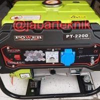 GENSET BENSIN 1000 WATT GENERATOR POWER ONE PT 2200 SUPER QUALITY