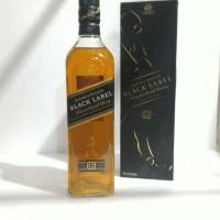 JOHNNIE WALKER BLACK LABEL Blended Scotch Whisky ORIGINAL