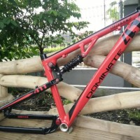 FRAME SEPEDA Frame Fullsus United Dominate 411 linkage full bearing