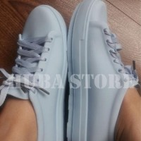 SPESIAL Sepatu wanita jelly shoes import sneakers cewe keds kets