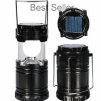 IM Lampu LED Lentera Emergency Tenaga Solar Matahari Petromak Power