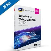 Bitdefender Total Security 2018 10PC - 1 Tahun