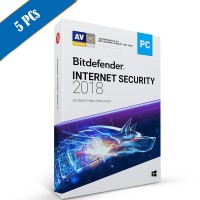 Bitdefender Internet Security 2018 5PC - 1 Tahun