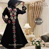 Jual Baju gamis pesta Zahra | Dress jumbo-longdress flower-party muslimah Murah