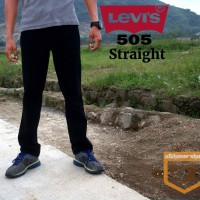 Levis 505 Straight Black