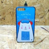 Case Soffie Iphone 8 Plus - Blue Music