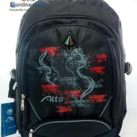 Tas Alto Sekolah Casual Santai Anak Remaja Bag Cover 77572L Hitam