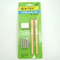 V-Tec Comic Calligraphy Pen/Comic Pen Tools Set  (CP-204)