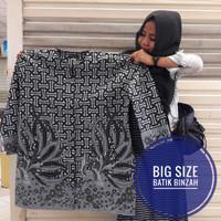 Blus Batik JUMBO / batik perempuan big size / Batik Binzah kode 0385