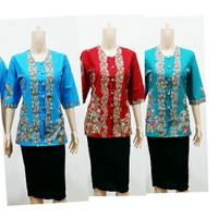 Blus Nadine Kerang | Pabrik Baju Batik atasan wanita Grosir Solo