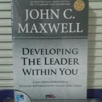 Buku Developing The Leader Within You John C Maxwell