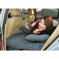Kasur Matras Angin Mobil untuk Travel Inflatable Smart Car Bed- Black