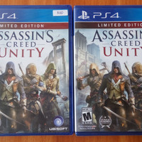 kaset bd ps4 baru original game assasins creed unity masih segel