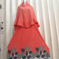 Gamis firda maxi include bergo babelpop<br/>Bahan misby