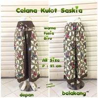 Celana Kulot Saskia C007 Motif Batik Wanita Modern   Celana Panjang