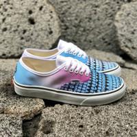 828b9ca0dea Sepatu Vans Authentic Tribal Magenta Cyan Pastel BNIB Premium Original