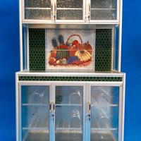 Rak Piring Keramik Super 3 pintu-RATA ( LKS 819-106x43x176 cm )