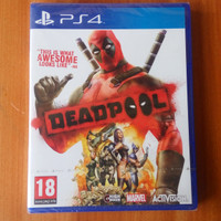 kaset bd ps4 baru original game deadpool masih segel