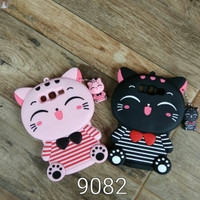 Case 4D Cat Smile Samsung Galaxy Grand 1 Duos G9082 Karakter Softcase