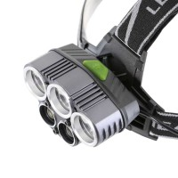 Senter Kepala Headlamp Cree XM-L 10000 Lumens / Head Lamp 5 LED