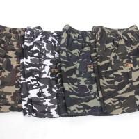 [Paket 4pcs] Celana cargo pendek / army style / bahan nyaman / 4 warna
