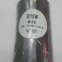 Ribbon Pita Printer label merk Ricoh 110x300m RW-300shz