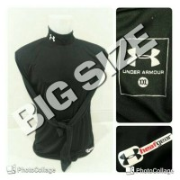 BIGSIZE XL-3XL !! Baselayer / Manset Heatgear UnderArmour Black