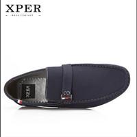 ORIGINAL XPER Autumn Winter Men's Flats SEPATU PRIA BIRU high quality