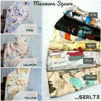 Jilbab Segiempat Shabby Maxmara Silk Seri 73 / Hijab Segi Empat Motif