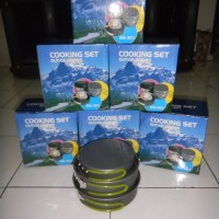 Cooking Set / Nesting DS 301 / Ultralight / 2 person / Berkualitas