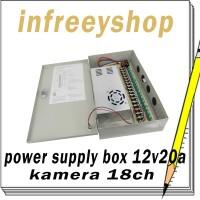 power supply box 20A 12V20A murni for cctv led
