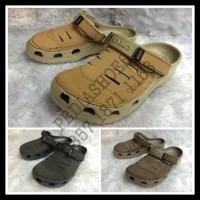 Terlaris Sandal Clog Crocs Yukon Leather Original (Grosir Dan Eceran)