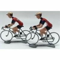 Miniatur Sepeda Balap - Flandriens Bahrain Merida Pro C Diskon