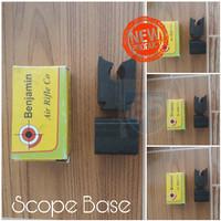 Mounting Tele / Scope Base untuk Canon Bahan Aluminium