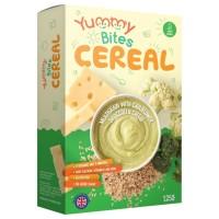 Yummy Bites Cereal Multigrain Cauliflower,Broccoli & Cheese - 125 Gr