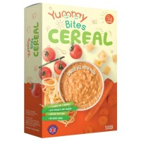 Yummy Bites Cereal Cheesy Vegetable With Pasta - 100 Gr