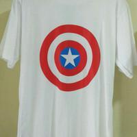 Kaos Captain Amerika Super Hero